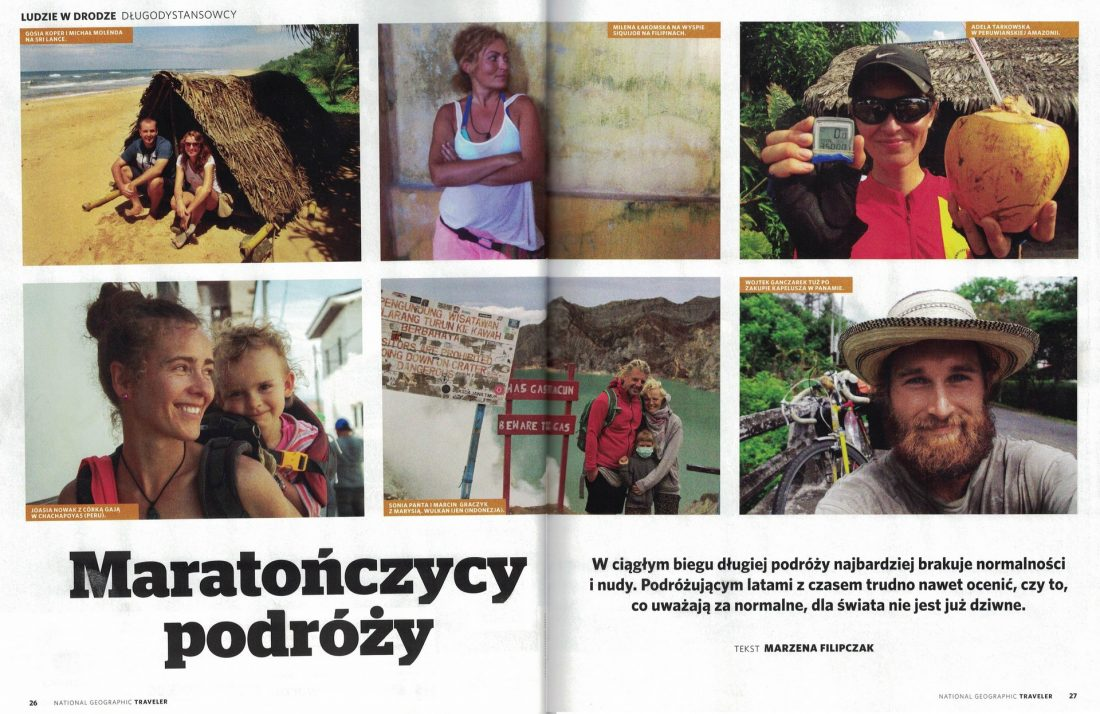 mary w plecaku w national geographic traveler
